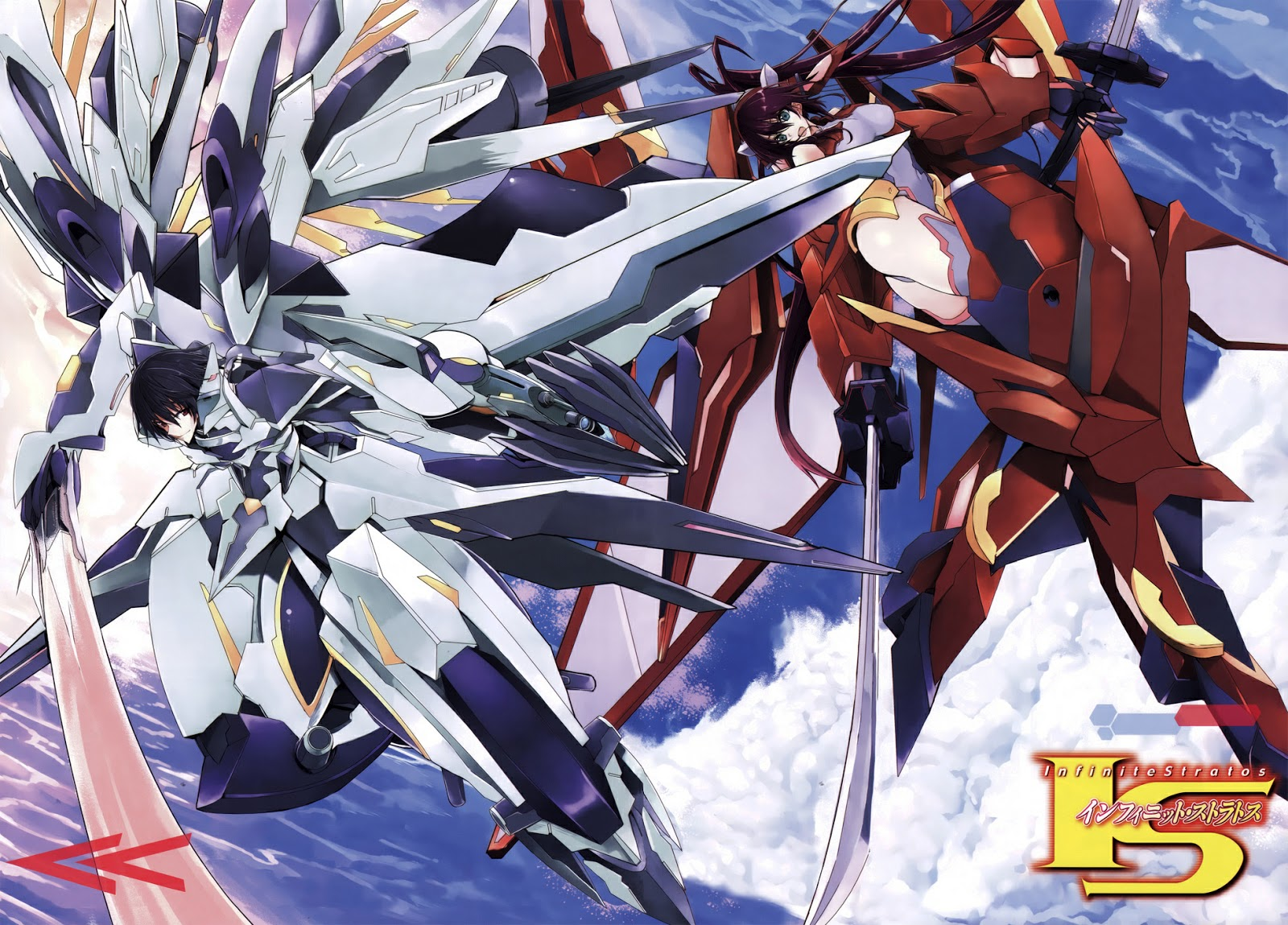 manga wallpapers infinite stratos manga wallpaper