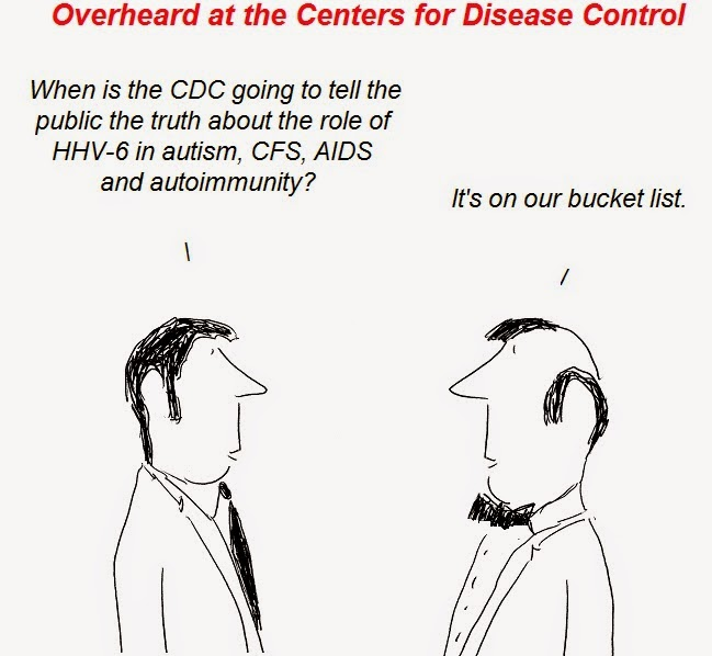 cfs, hhv-6, cdc, fraud, aids, autism, autoimmunity, causation, transmission, CFS/AIDS apartheid