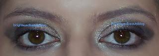 No mascara with Chanel Ombres Perlees De Chanel eyshadow