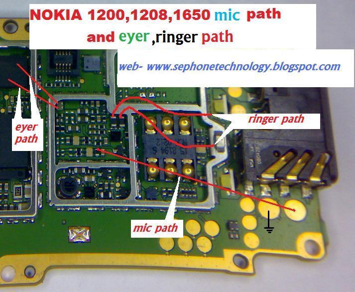 Nokia 1209 Ringer Buzzer Problem Jumpers Solutions Ways