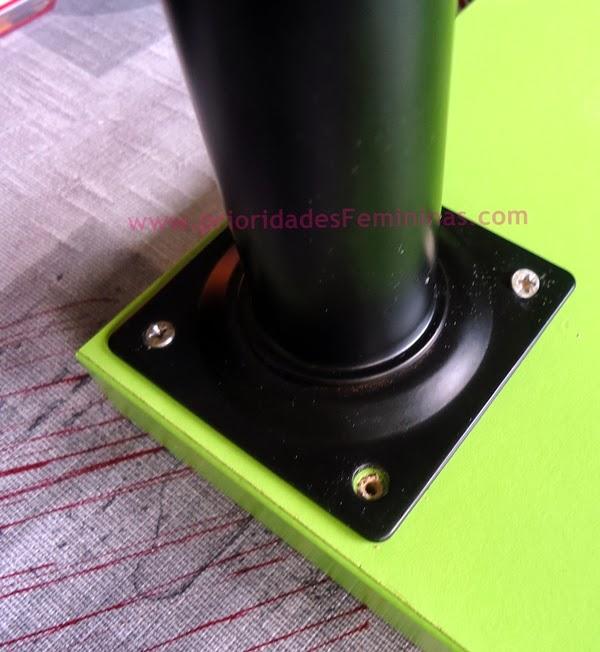 parafuso mesa verde