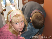 Barefoot Hippie Girl In Eye Of Beholder