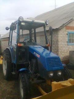 Колесный трактор малой мощности ХТЗ-3510