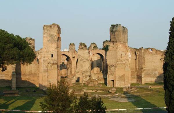 Terme di Caracalla: Giornate Europee del Patrimonio 2013 visite guidate