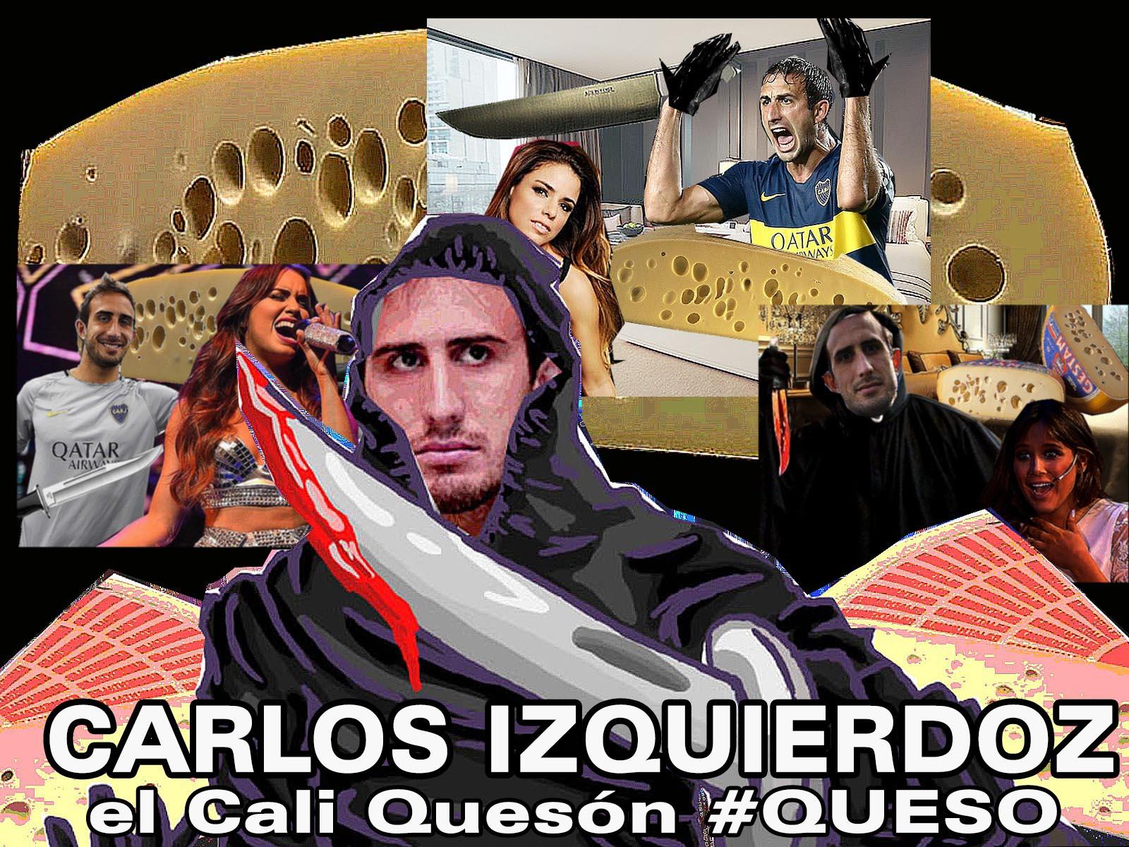 la saga de CARLOS IZQUIERDOZ