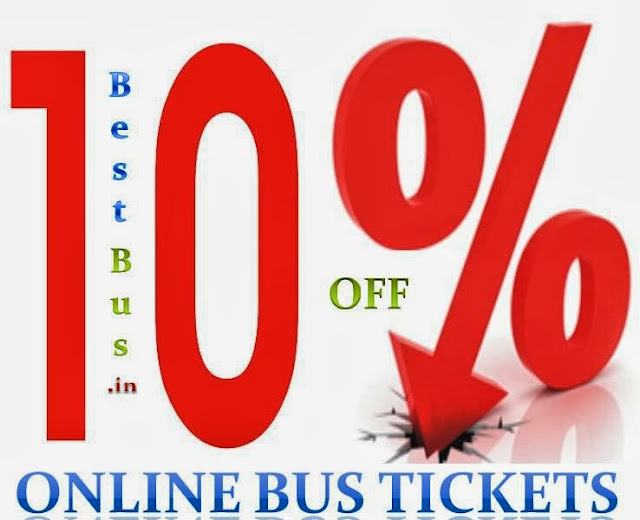 Online bus booking discount coupons