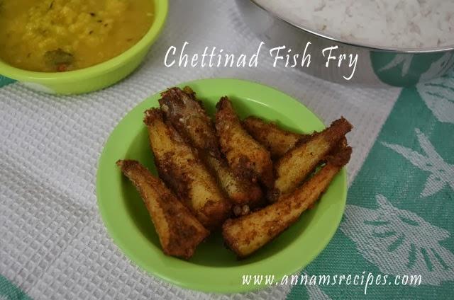 Chettinad Fish fry