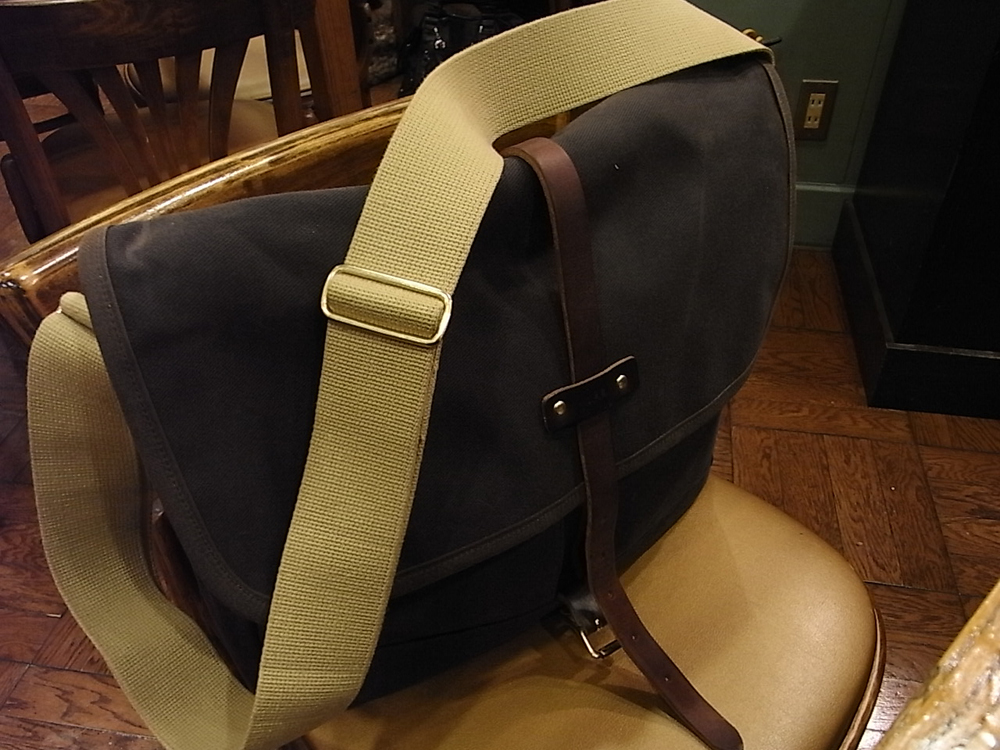 Archival Clothing Field Bag