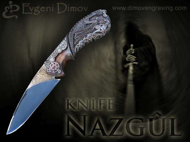 "Composition ""Knife Nazgûl"" - Class ""Aristocrat"""
