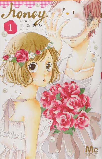 1º volume do shoujo mangá Honey
