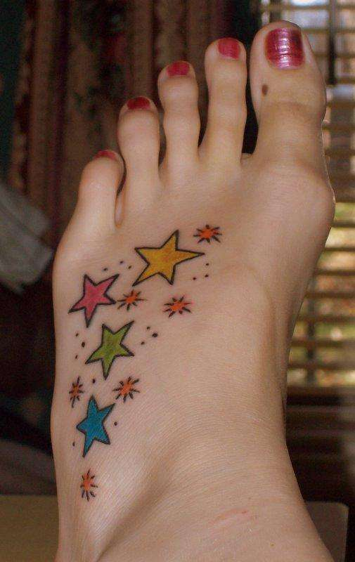 The popularity of the wrist star tattoos is on the rise