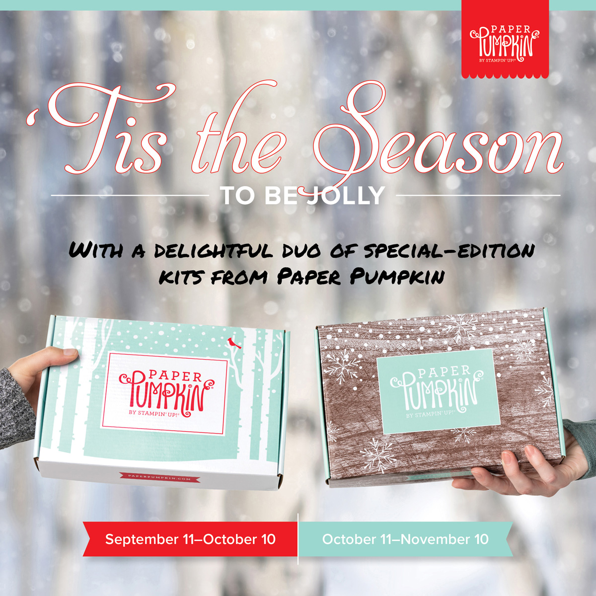 Sign up for Stampin' Up! Paper Pumpkin