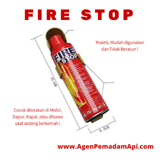 Fire Stop Alat Pemadam Api Mini Portable