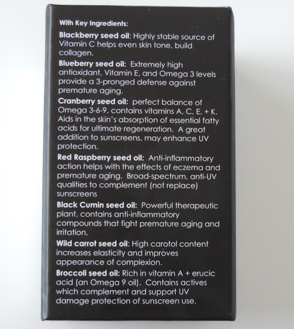 Sunday Riley Juno Hydroactive Cellular Face Oil Ingredients List