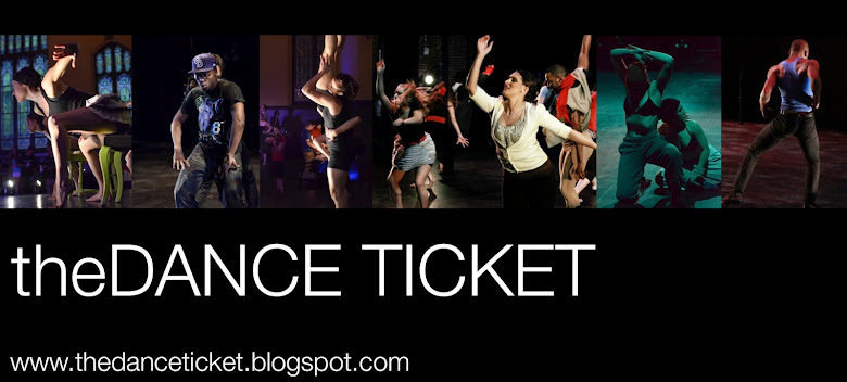 the DANCE TICKET