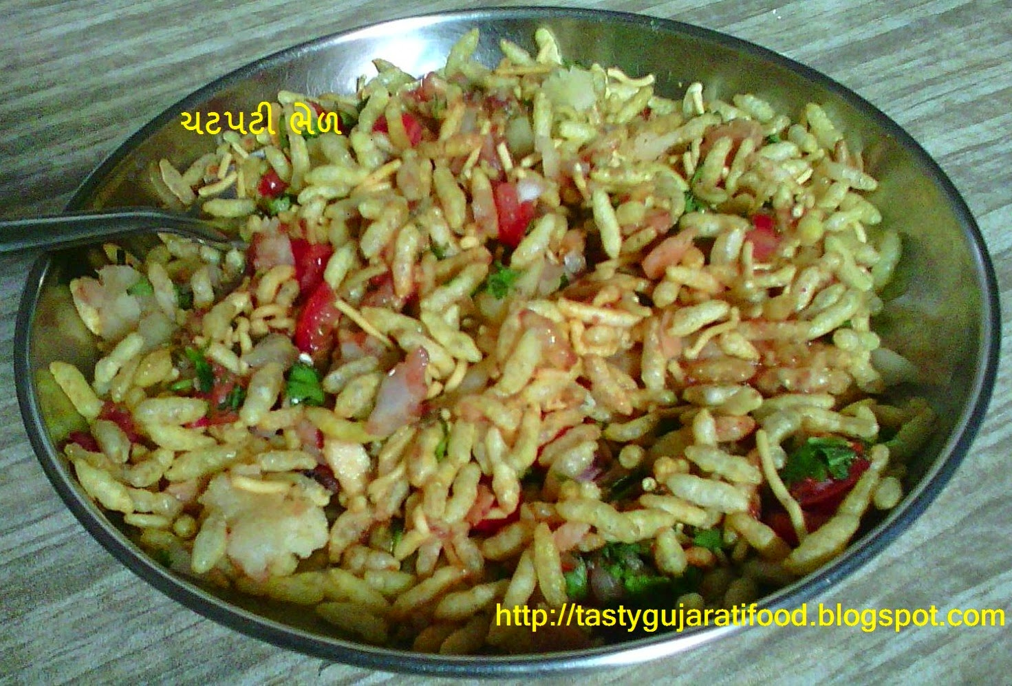chatpati bhel recipe in gujarati