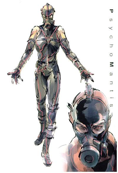 los personajes mas locos de los videojuegos Psycho-mantis