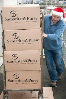 Charity work in Cornwall. Samaritans Purse