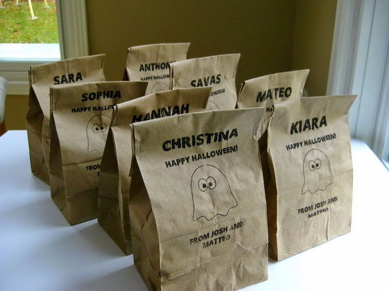 My Handmade Home: Tutorial: Printing on Paper Lunch Bags - an Update