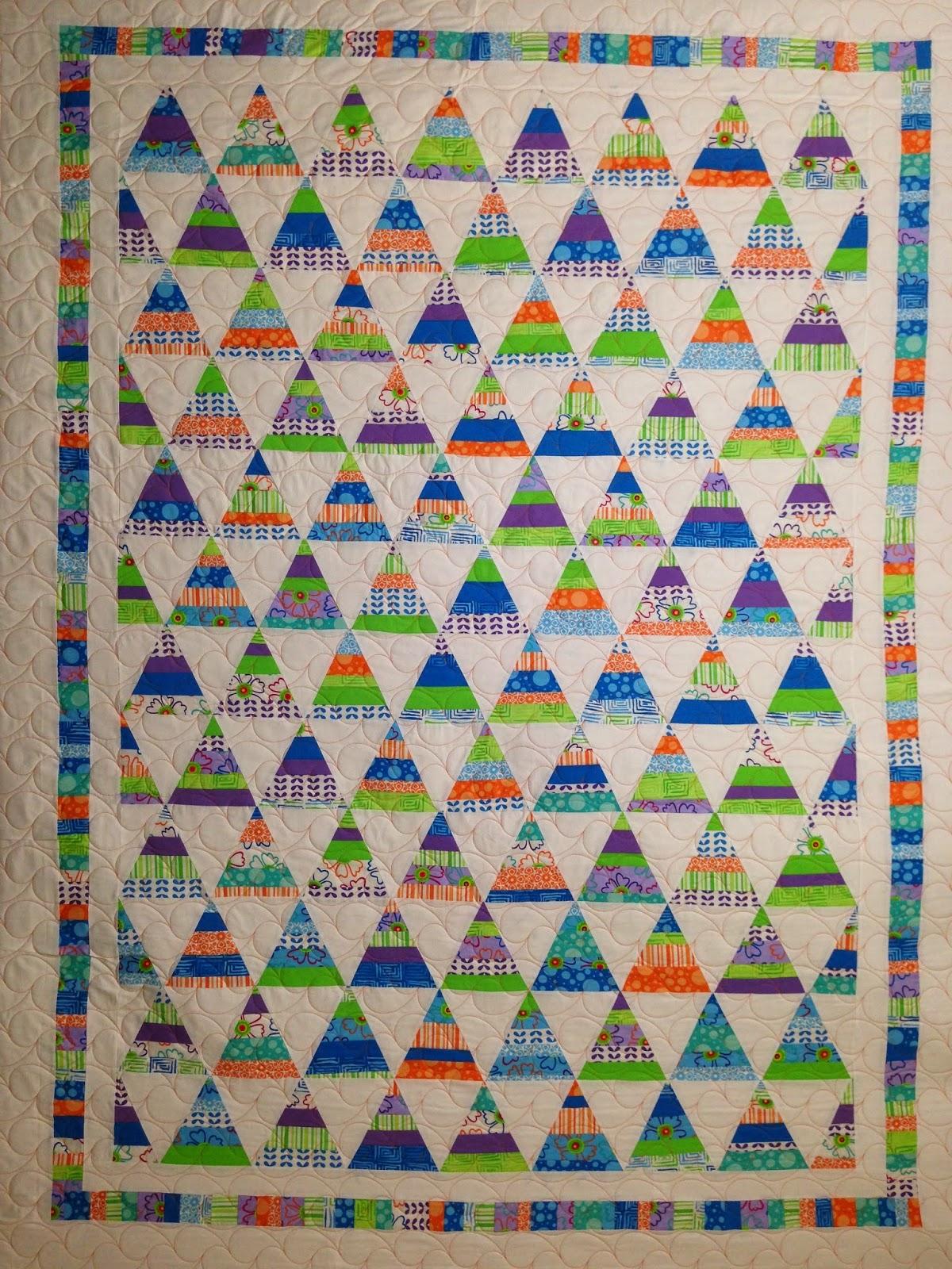 Cheryl Wahlgren Triangle Quilt