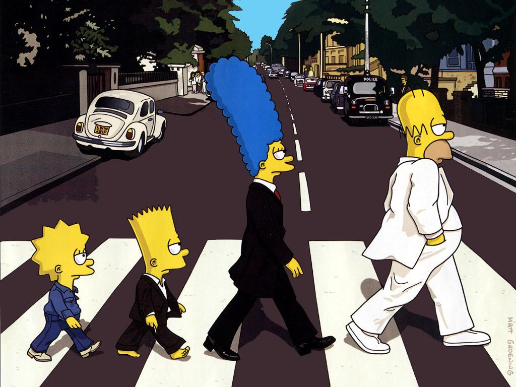 Quien cruza Abbey Road en este mismo instante?