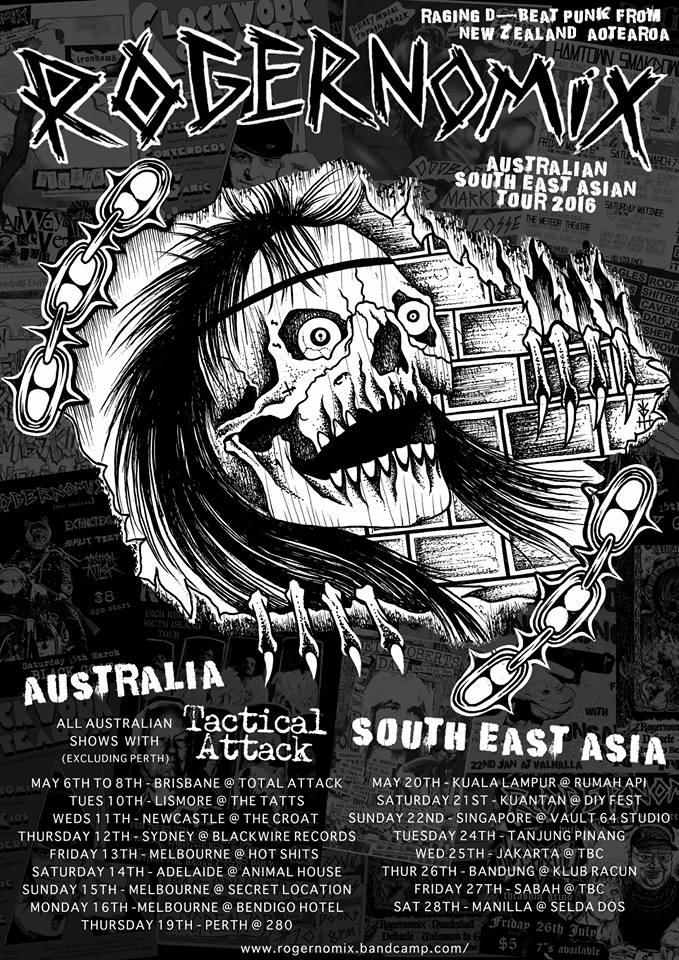 Rogernomix Aus/SouthEastAsia Tour