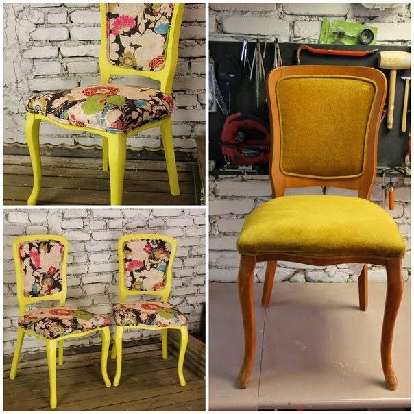 Декорируем стулья своими руками