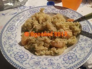 Risotto Zucchine e Gamberetti by AgoCheh