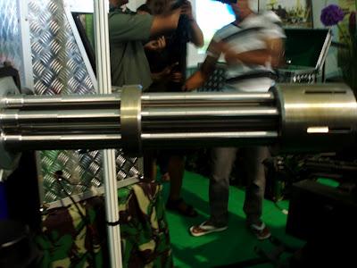 Senapan Multi Laras 7,62mm  - Dislitbangad