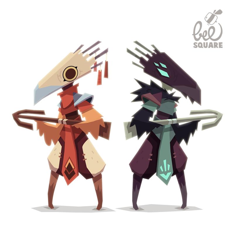 Vtc Game Design Character Development : Zinkase pablo hernández more character design for video