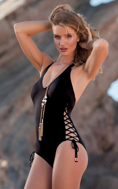Rosie Huntington Whiteley – Al Yidiz Swimwear 2011 Campaign