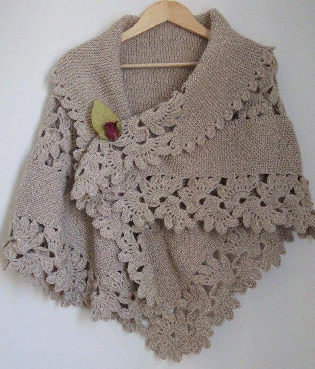 Crochet Shawl Edging Patterns