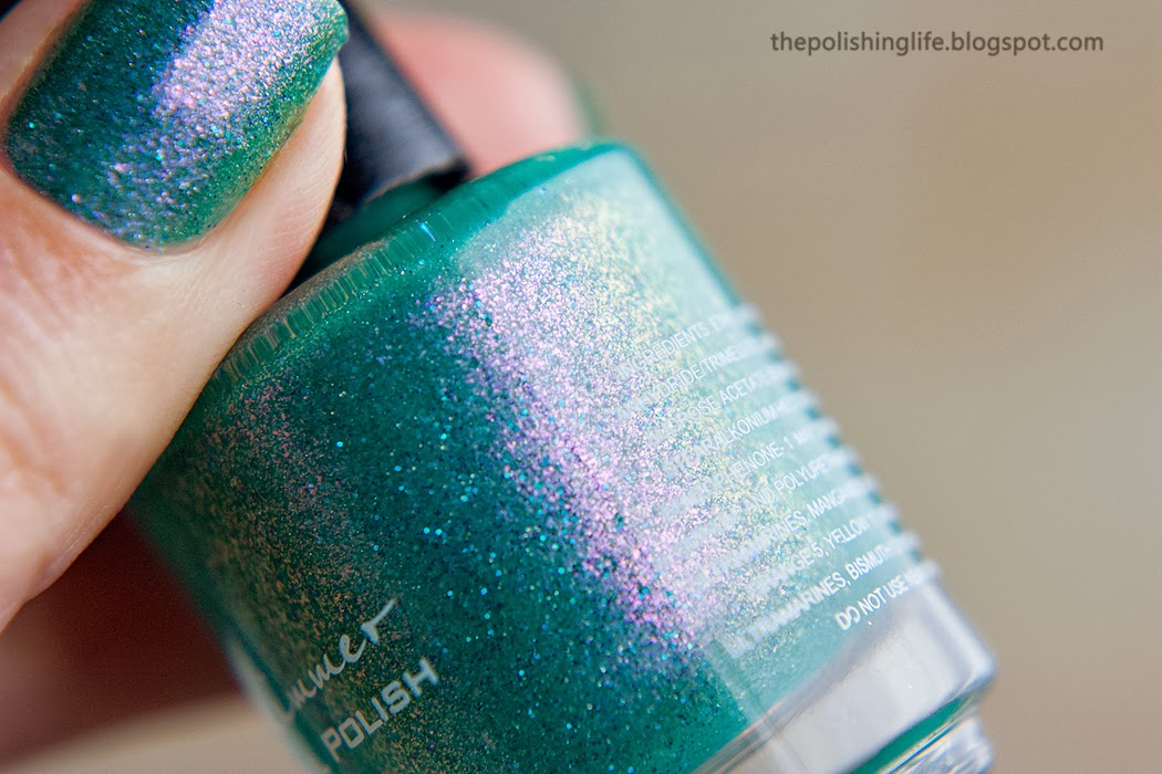 KBShimmer Teal Another Tail swatches and review