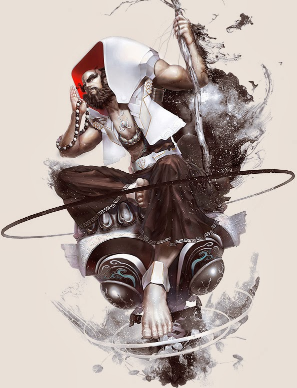 25 Stunning Game Character Designs and Fantasy Digital Art works by Hong Yu-Cheng