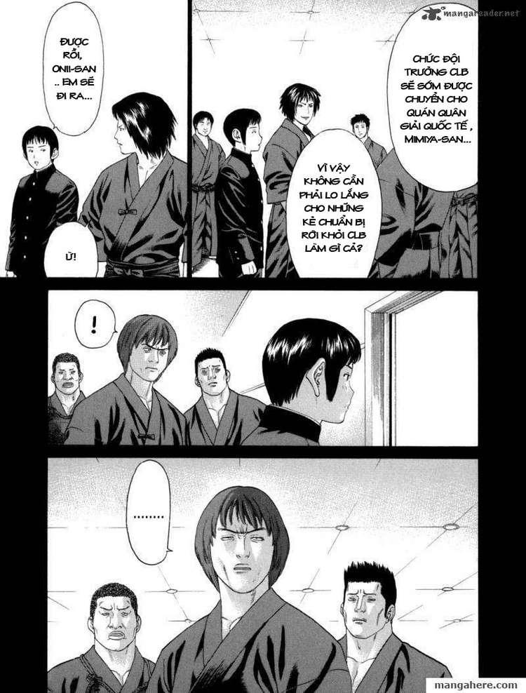 Karate Shoukoushi Kohinata Minoru chap 81 Trang 11