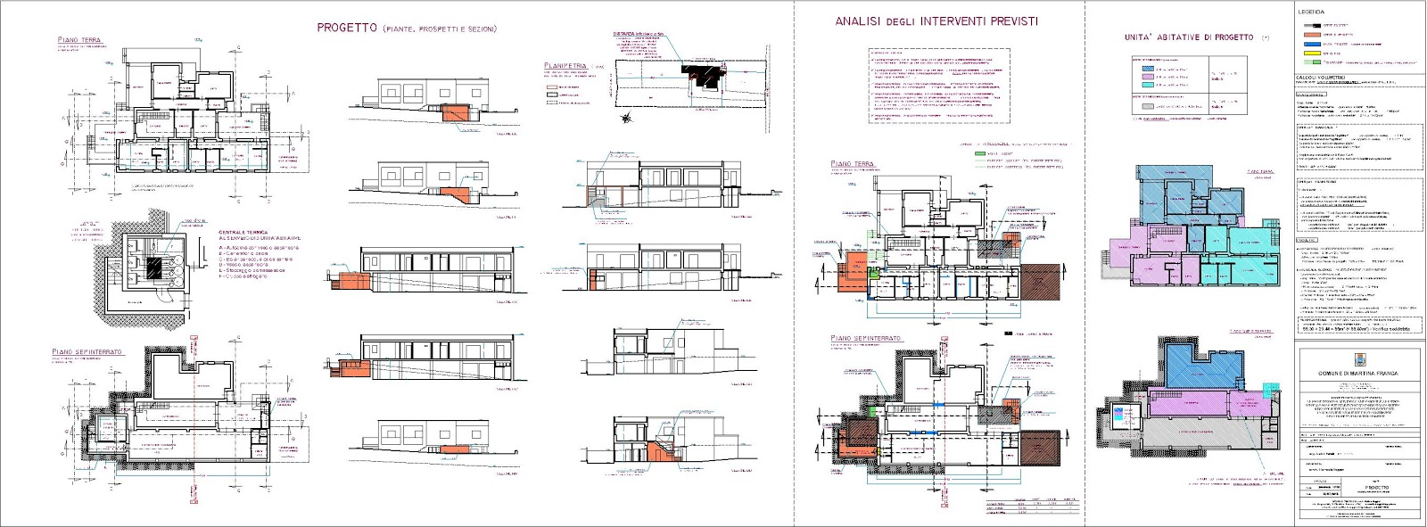 Raffaele ruggieri architetto elaborazioni tavole di progetto for Progettazione paesaggistica