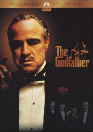 DVD cover for The Godfather  movieloversreviews.blogspot.com