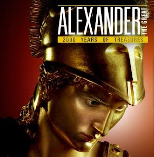 Poster for Alexander the Great exhibition at Australian Museum