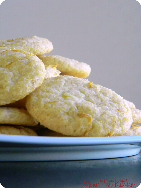 Mom's Test Kitchen: Lemon Citrus Cookies #SundaySupper