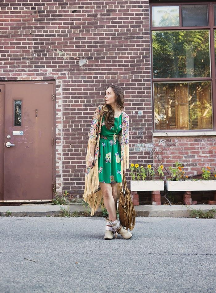 Fringe-Kimono-Sundress-layered-boot