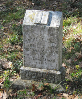 Grave of Thomas I. Jones