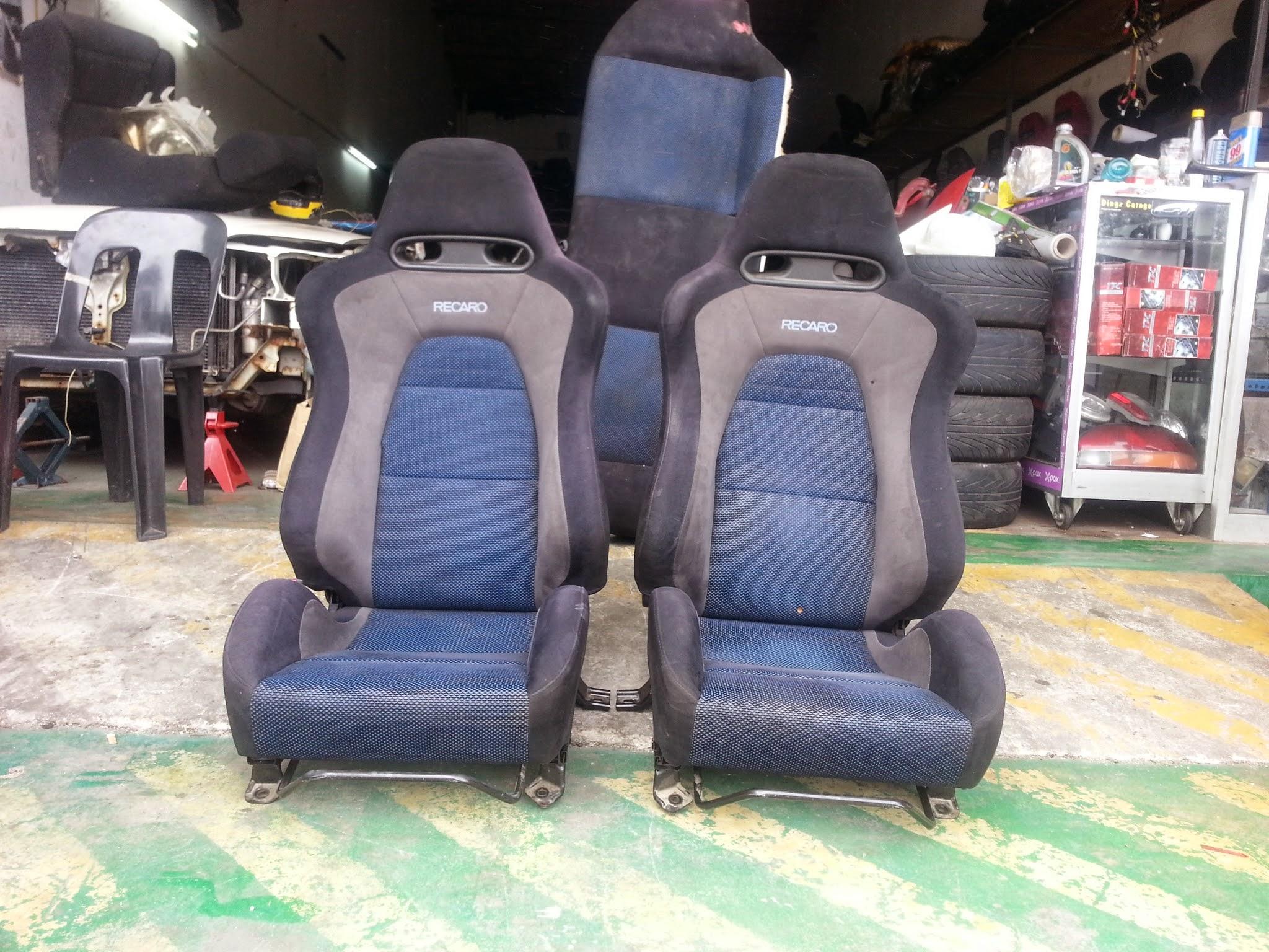 Dingz garage seat recaro lancer evo 7 complete for Garage seat vosges