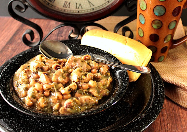 Black Eyed Pea Chicken Chili