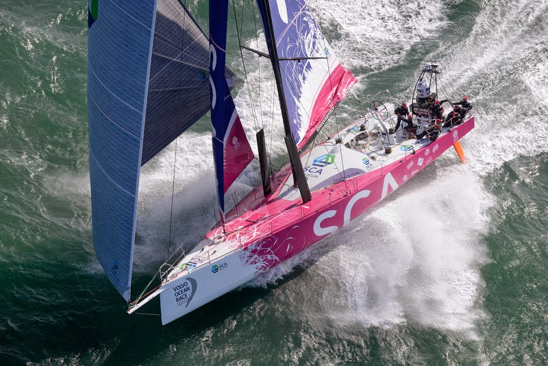 El Team SCA en la Volvo Ocean Race 2014