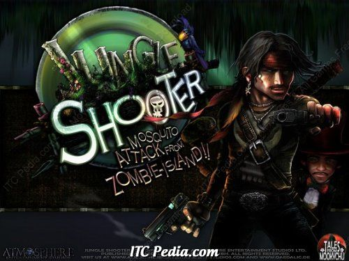 Jungle Shooter Mosquito Attack from Zombie Island