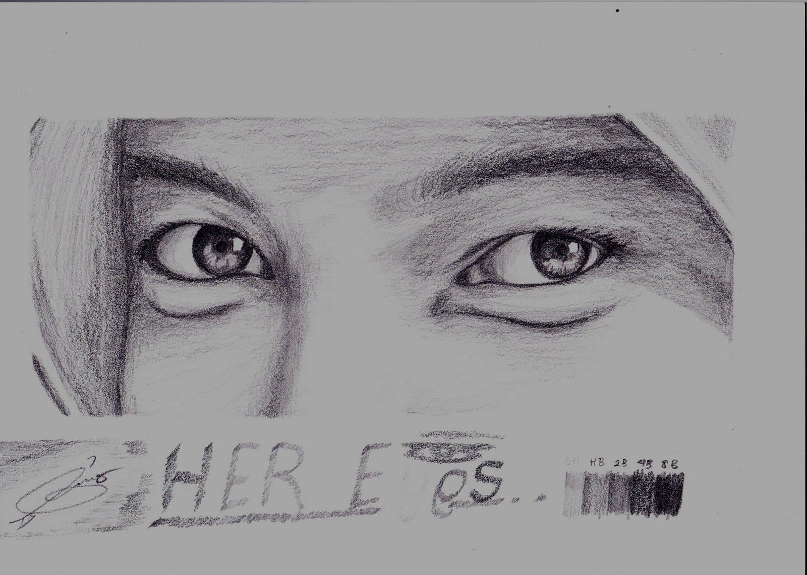 Pencil Draw / Scetch (Gambar Pensil / Sketsa