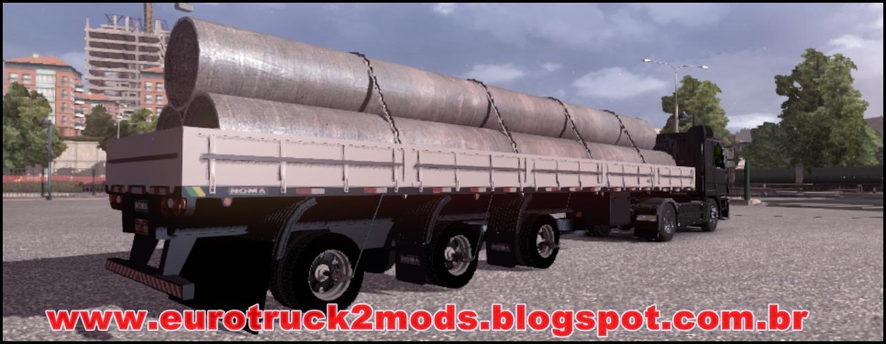 Euro truck 2 mods graneleira vanderleia noma branca