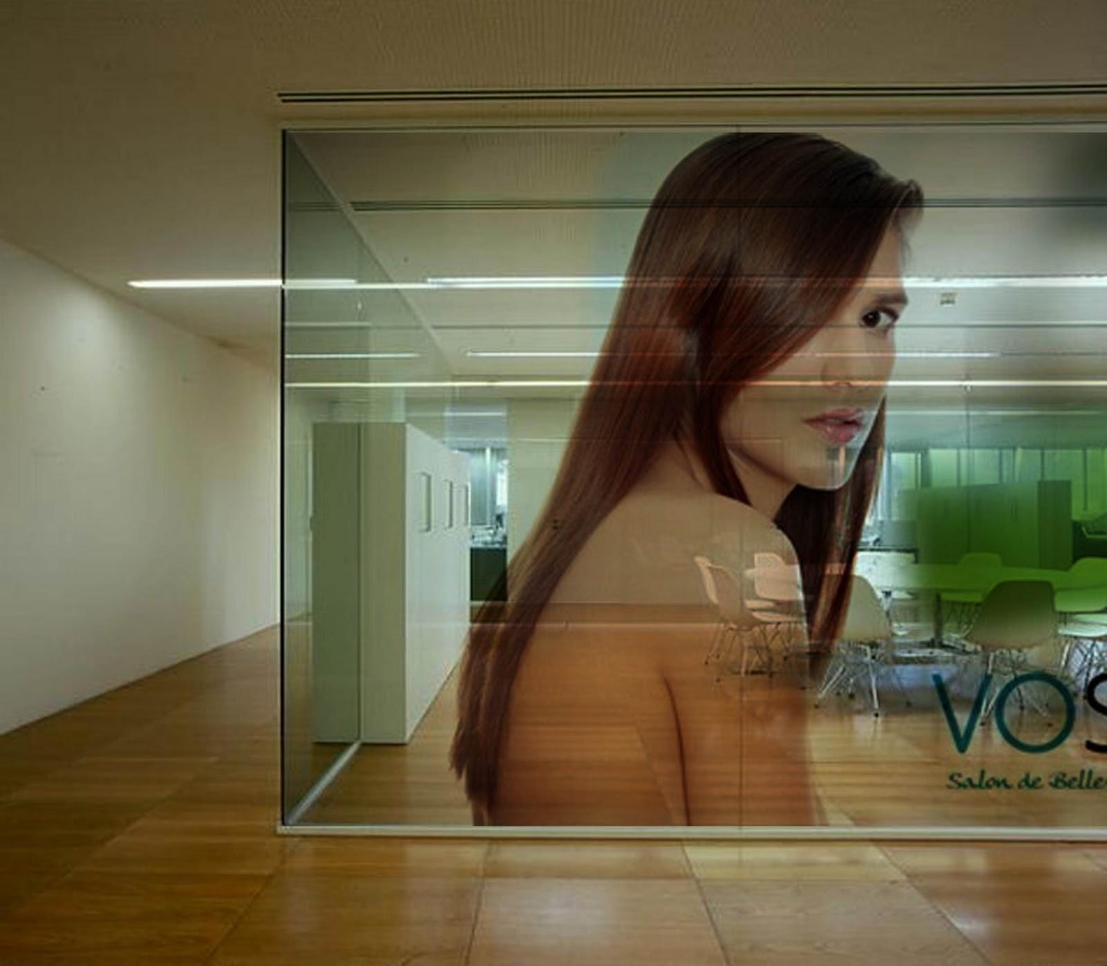Agencia wtc vinil transparente en vidrio - Vinilos para vidrio ...
