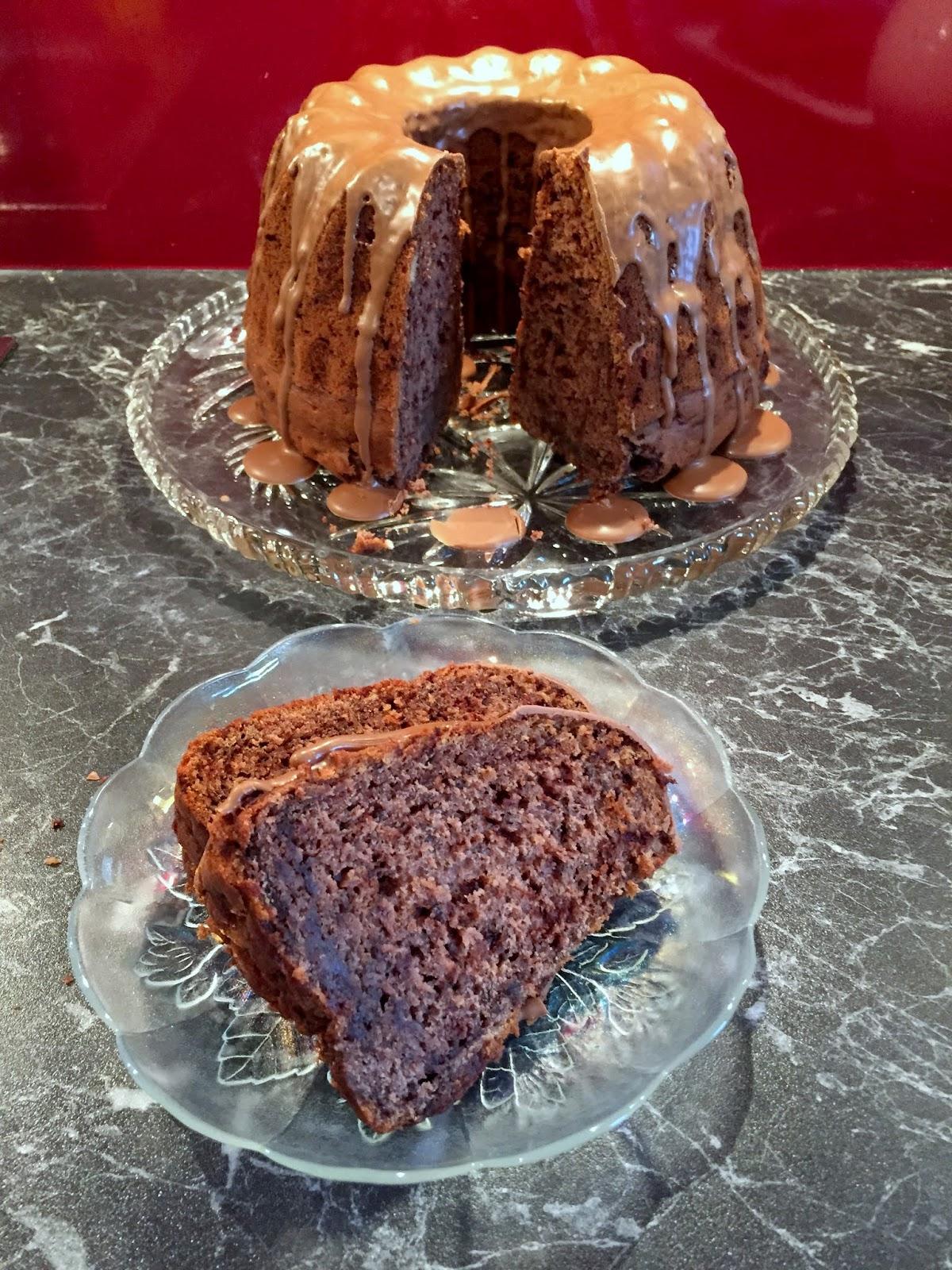 LanisLeckerEcke: Schokoladen-Bananen-Kuchen