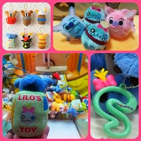 JAPAN DISNEY STITCH & SCRUMP PRIZE ITEMS